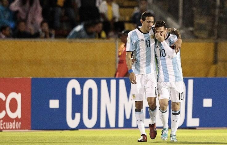 梅西帽子创纪录 阿根廷成功晋级世界杯