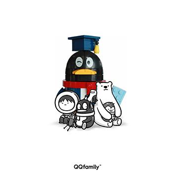 qqfamily积木系列(美高积木),颗粒大,咬合松,易拼装,最适合酷酷又年轻