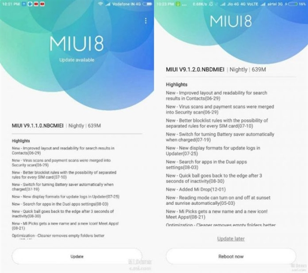 基于安卓7.1打造!小米Max获得MIUI9国际稳定版