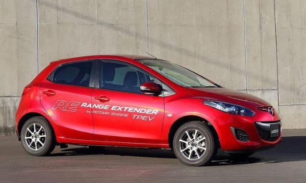 马自达将利用转缸式发动机研发增程版电动车