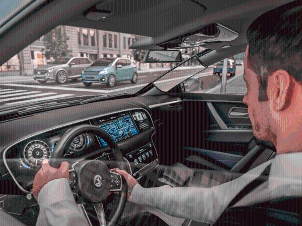 """大陆研发""""透明""""虚拟A柱 可消除驾驶员前方视野盲点提高驾驶安全"""