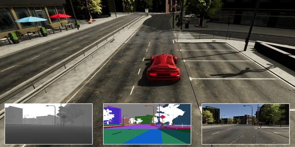微软合作Unity 开放AirSim平台用于测试自动驾驶系统