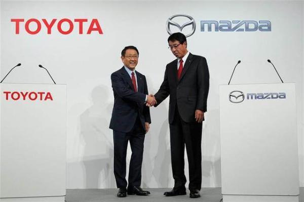 丰田马自达合资工厂将于下月开工建设 预计2021年投产