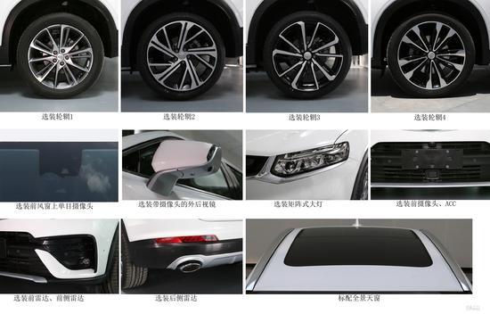 """吉利旗下首款轿跑SUV正式定名""""星越"""" 与小行星同名"""