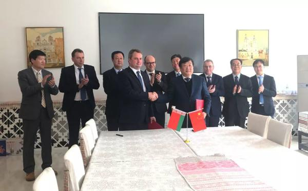 潍柴动力与白俄罗斯开启新一轮战略合作