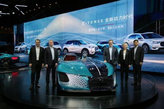 DS四款新能源车型上海车展亚洲首秀