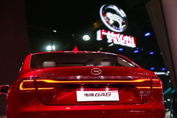 全新传祺GA6上海车展首发 焕新设计或成自主品牌B级车颜值担当