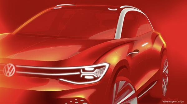 未来全尺寸电动SUV,大众ID. ROOMZZ概念车将于上海车展全球首秀