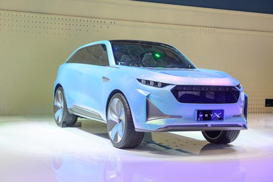 2019上海车展:全新WEY-X概念车全球首发