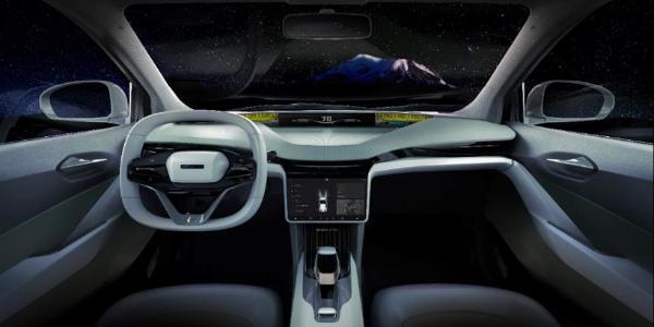 2019上海车展:奇点汽车全球首发高品质微型智能电动汽车iC3量产概念车,以丰田授权的eQ为基础