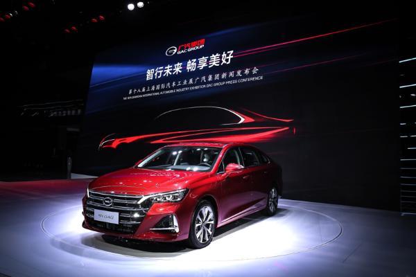 2019上海车展:全新传祺GA6重磅亮相 重塑中国中高级轿车市场格局