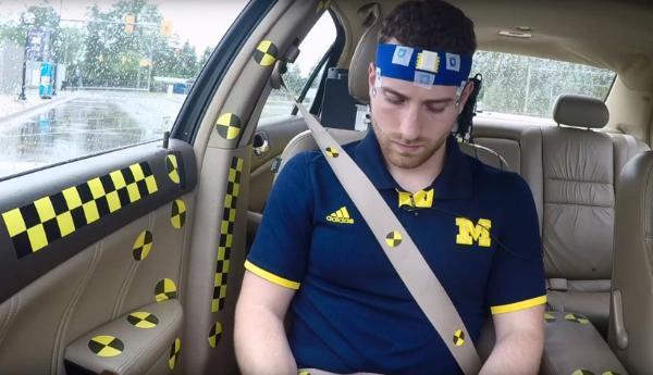 密歇根大学识别量化乘用车晕车 预防未来自动驾驶汽车晕车