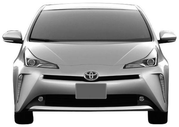 丰田全新普锐斯专利图曝光 或基于TNGA平台打造/外观造型激进