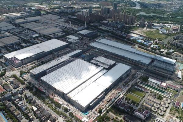 上汽大众新能源工厂11月8日建成投产 首款车ID.3同步下线
