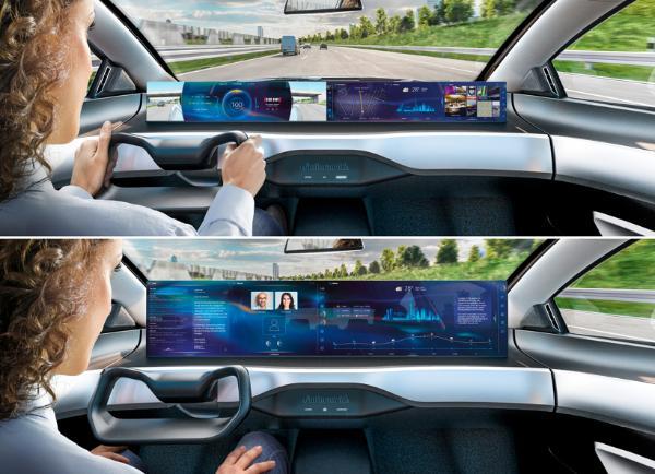 大陆集团发布未来汽车驾驶舱的高性能平台