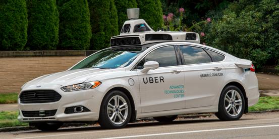 Uber自动驾驶汽车在达拉斯收集数据