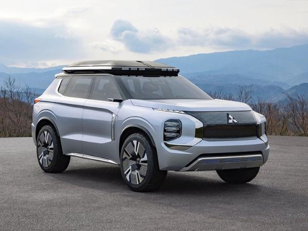 三菱欧蓝德渲染图曝光 或与新一代奇骏同平台/汲取概念车设计
