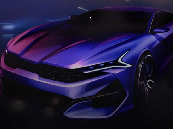 起亚全新一代K5更多预告图 搭贯穿式尾灯 将于近期发布