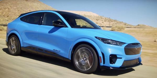 福特首款纯电SUV Mustang Mach-E发布 有望2021年引入