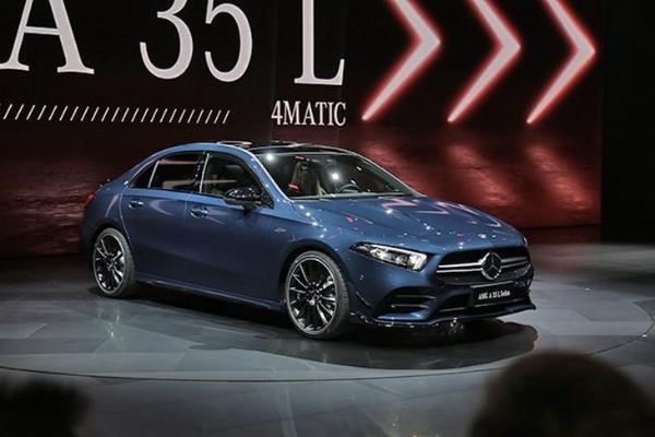 奔驰AMG A35 L将于广州车展上市 首款国产A...