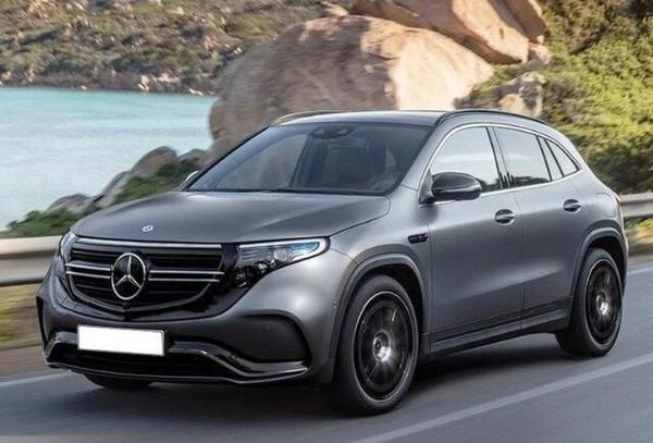 全新奔驰纯电动SUV—EQA渲染图曝光,外观很有科技感,未来将引入国内