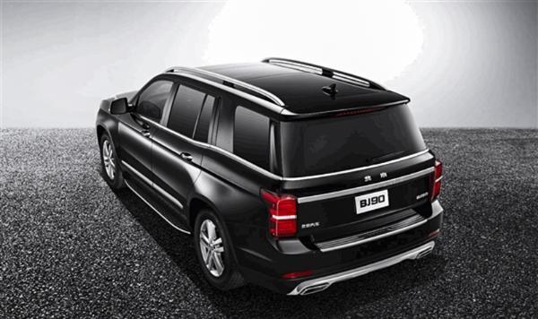 北京BJ90正式上市 售价区间为98.8-128.8万元