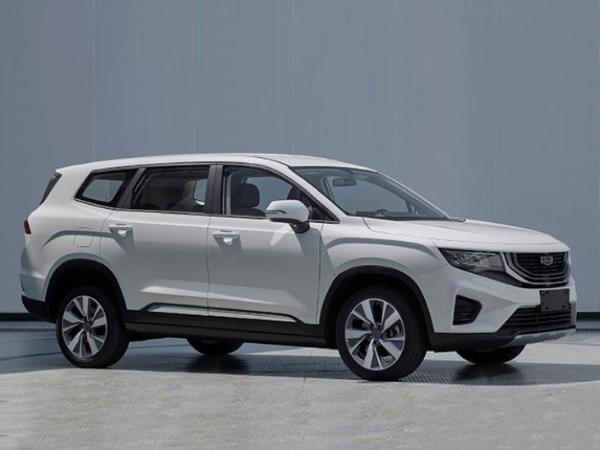 吉利首款中型SUV正式定名豪越 轴距超越汉兰达