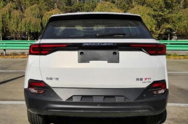 新款奔腾T77将3月份正式亮相 增1.5T发动机