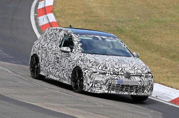 全新高尔夫GTI预告图曝光 最大功率245马力/日内瓦车展亮相