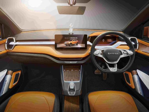 斯柯达VISION IN概念车正式亮相 专供印度市场