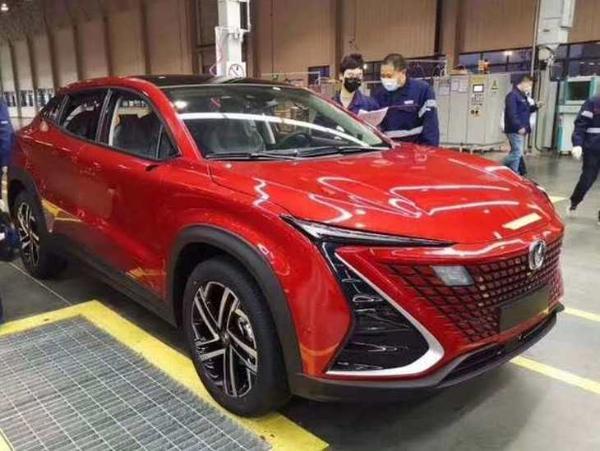长安UNI-T量产车正式下线 将6月份上市 预计买12万