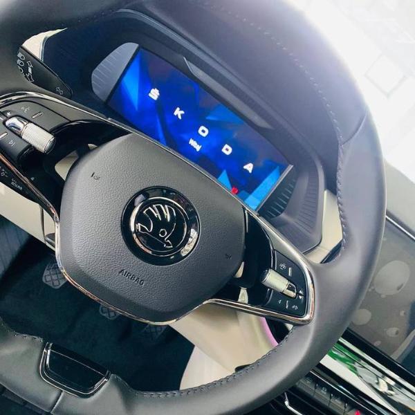 斯柯达全新明锐旅行实车亮相 配双液晶屏 下半年上市