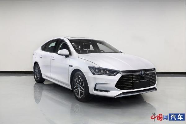 比亚迪秦Pro新增车型申报图曝光 换装磷酸铁锂电池组