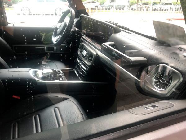 奔驰G 350最新实车谍照 9月上市/搭2.0T发动机