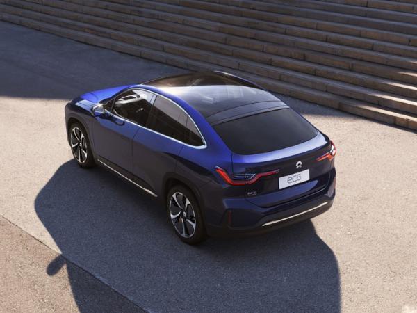 蔚来EC6成都车展正式上市 首款轿跑SUV 9月正式交付