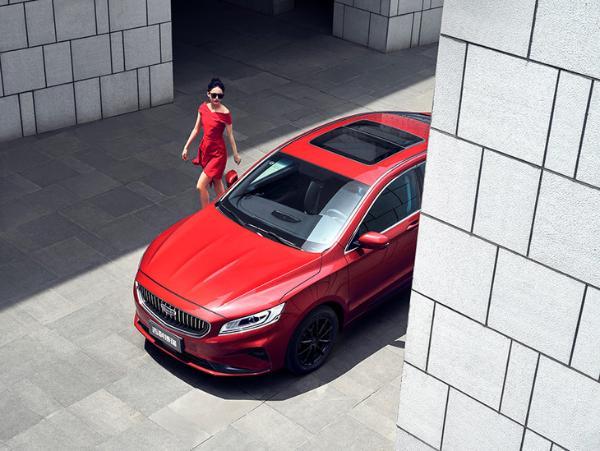 新款吉利博瑞正式上市 推4款车型/售价14.68万元起
