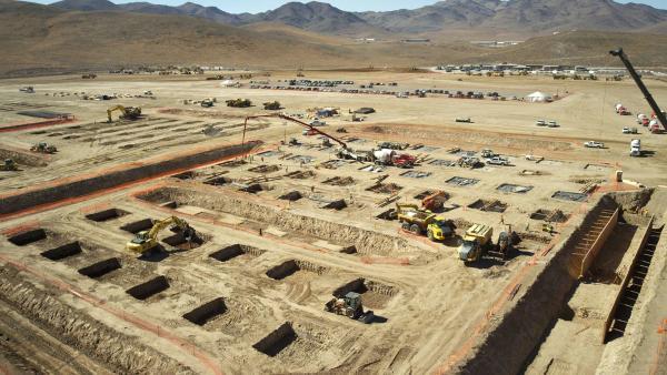 特斯拉得州超级工厂全速建设中 将招聘大量职位