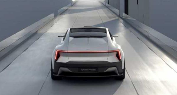 穿越时空的约会 极星Precept概念车将在北京车展正式亮相