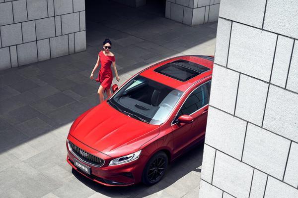 新款吉利博瑞正式上市 推4款车型/售价14.68万...