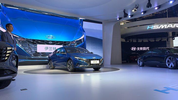 2020北京车展:全新现代伊兰特开启预售
