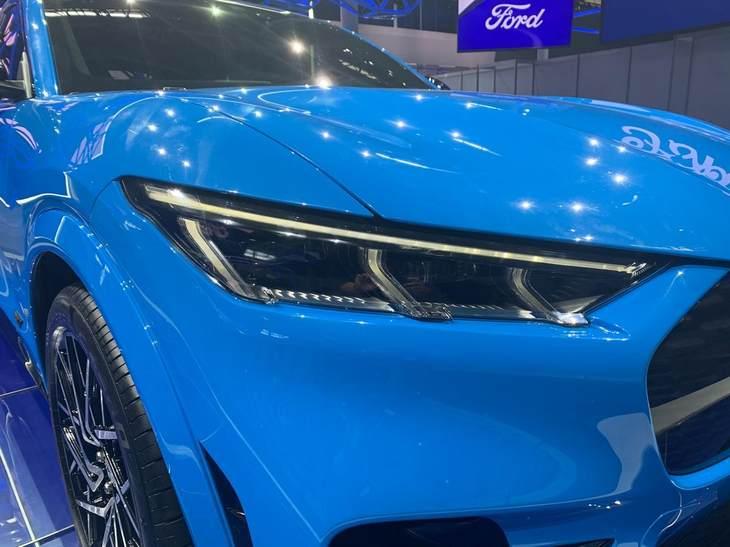 2020北京车展:福特Mustang Mach-E正式发布 纯电续航600km