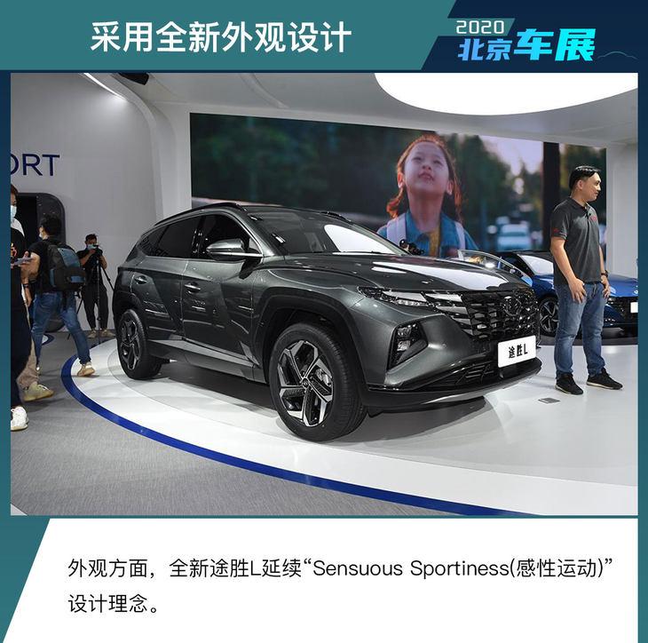 2020北京车展:实拍全新现代途胜L 预计2021年上市