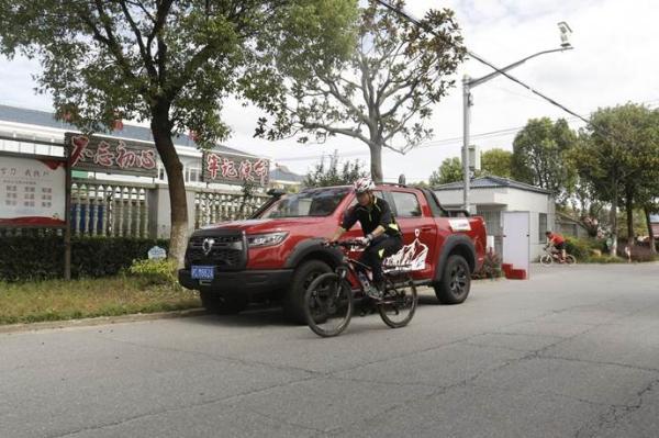 实力经销商保驾护航 长城汽车助力骑游大会