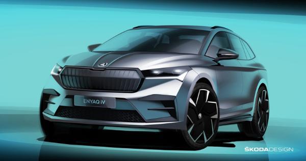 斯柯达发布首款基于MEB平台的纯电SUV