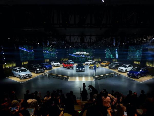2021年大众在华SUV阵容将拓展到至少12款车型