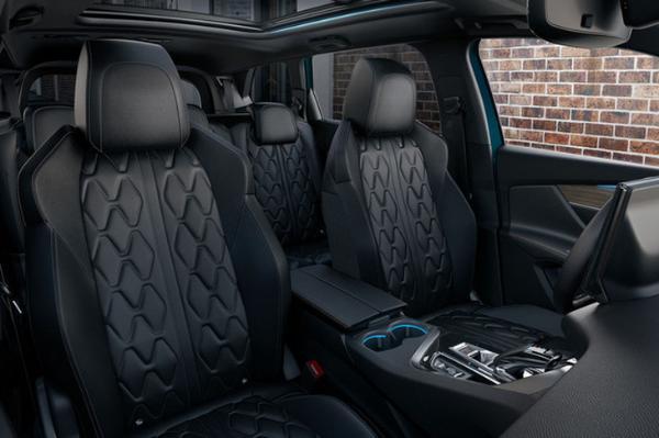 新款标致5008官图发布 车头造型变化明显/双动力可选
