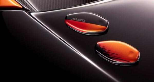 迈凯伦765LT特别版官图发布 采用独特车身涂装设计
