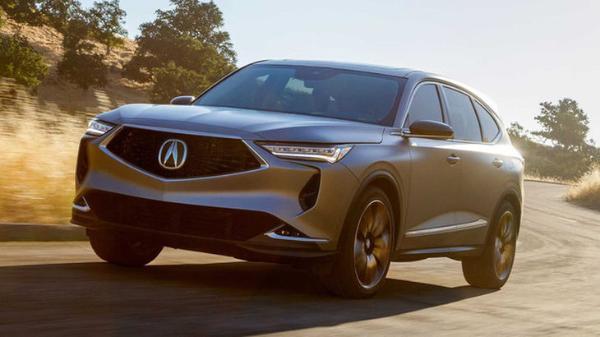 讴歌全新MDX原型车官图曝光 量产版预计年底发布