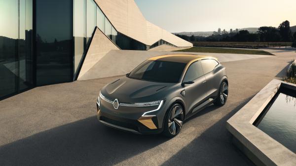 雷诺发布Megane eVision概念电动汽车