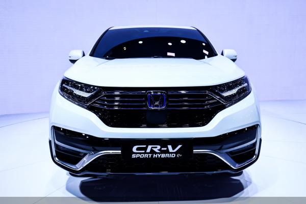"""CR-V 锐·混动e+全球首发,东风本田""""用科技撬动未来"""""""